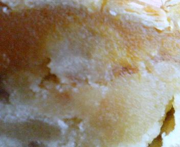 パンプキンのケーキ CUT!!