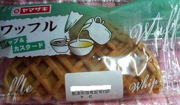 ワッフル ホイップ&カスタード